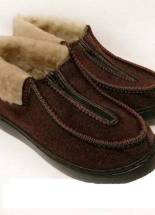 Бурки ботинки мех