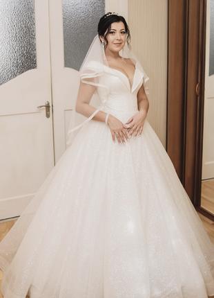 Свадебное платье. роскошное платье. весільна сукня