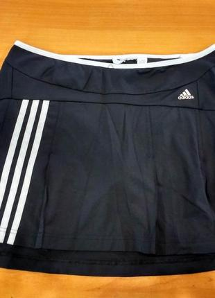 Юбка шорты adidas climalite оригинал черная для тенниса,гольфа