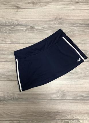 Спортивная юбка-шорты new balance  размер xl. оригинал!