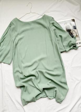 Платье, плаття, сукня, фисташковое, фісташкова, фисташковый, фісташковий, h&m