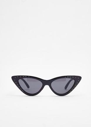 Модные очки в стиле cat eye bershka