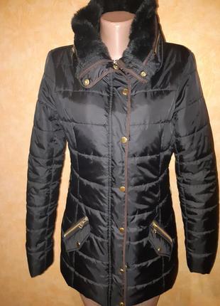 Удлиненная куртка на синтепоне от only в новом состоянии