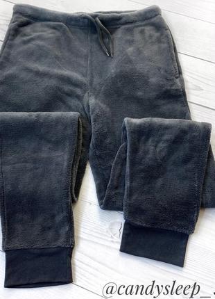 Тёплые флисовые мужские аутлет новые штаны для сна дома primark