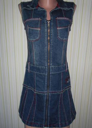#джинсовое платье# here &there#