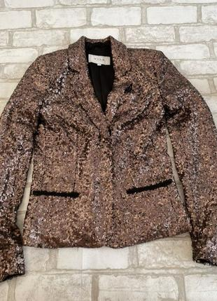Нарядный, вечерний  пиджак от vila, xs