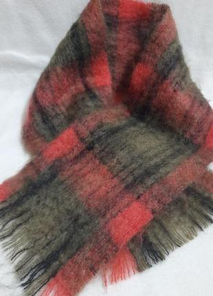 Мужской зимний шарф heather valley scotland
