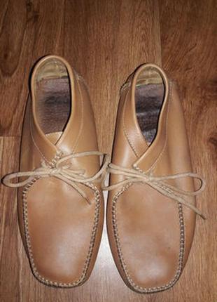Женские ботинки из натуральной кожи для ножки 42 размера clarks