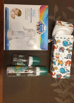 Молокоотсос бутылочки термосумка canpol babies