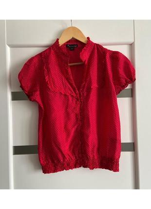 Шелковая блузка forever 21