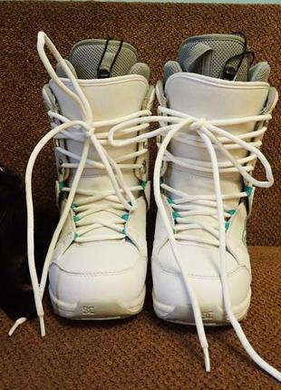 Ботинки сноубордические dc 39р.