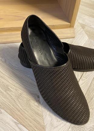 Туфли giorgio armani