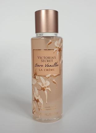Мист, спрей для тела bare vanilla la crème victoria's secret 🔥акция!🔥 получи скидку 7%