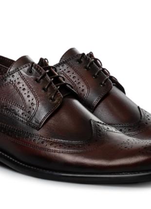 Броги туфли мужские