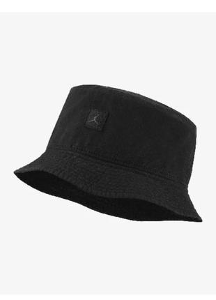 Панама чоловіча jordan jumpman washed bucket cap dc3687-010 чорний