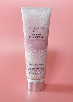 Лосьон/крем для тела fresh snowfall victoria´s secret 🔥акция!🔥 получи скидку 7%