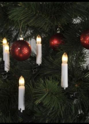 Гирлянда свечи светодиодная на елку германия