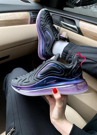 Nike air max 720 violet женские кроссовки найк1 фото