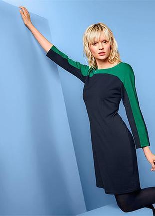 Стильное плотное джерси платье от тсм tchibo (чибо), германия, от 44 до 58