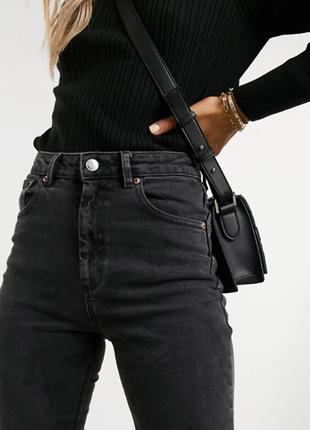 💥1+1=3 базовые серо-черные прямые женские джинсы debenhams, размер 50 - 52