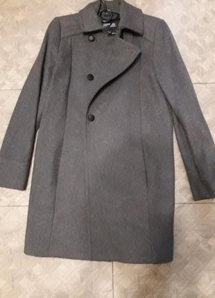 Теплое пальто mango
