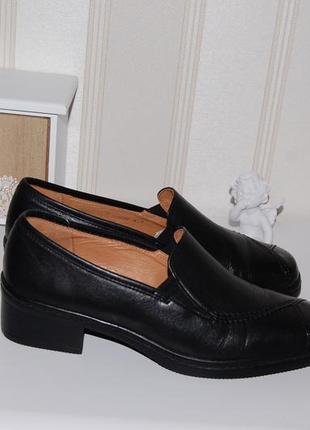 Туфли кожа кожаные 37 р