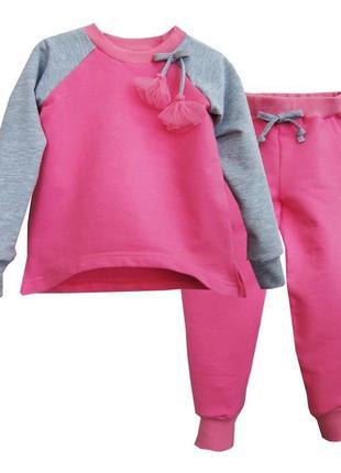 """Стильний спортивний костюм """"more kids"""" / 92-98-104-110 / штани та реглан (кофта)"""