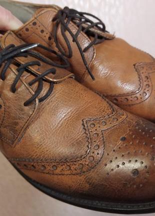 Туфли броги india