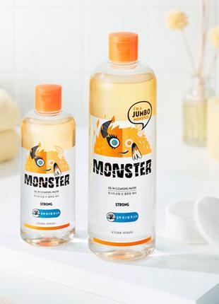 Мицеллярная вода etude house monster oil in cleansing water