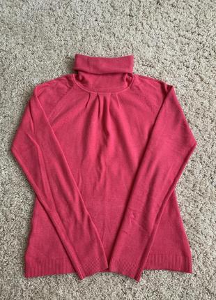 Вязаный свитер в'язаний светр кофта водолазка гольф скидка продам срочно