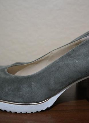 Кожаные туфли gabor 39 размер