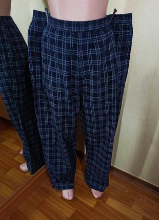Байковые пижамные брюки хлопок