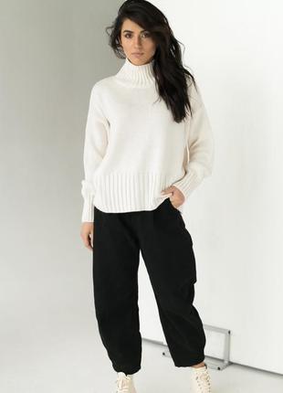 Оверсайз светр / кофта 20%шерсть