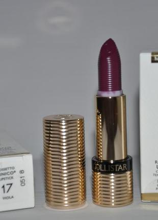 Помада collistar unico lipstick  полный формат в коробочке 3,5г  тон 17