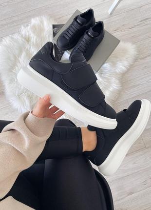 Кеды унисекс alexander mcqueen sneaker на липучках