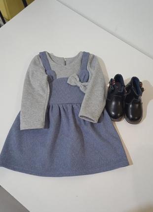 🌹теплое платье для девочки🌹