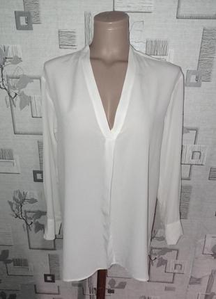 Шелковая блузка рубашка gerard darel