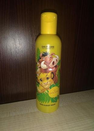 Шампунь для волос и тела disney «король лев»