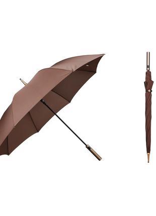 Зонт трость krago коричневый
