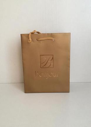 Пакет подарочный bonjour