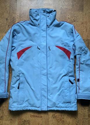 Горнолыжная лыжная зимняя тёплая куртка с юбкой warp