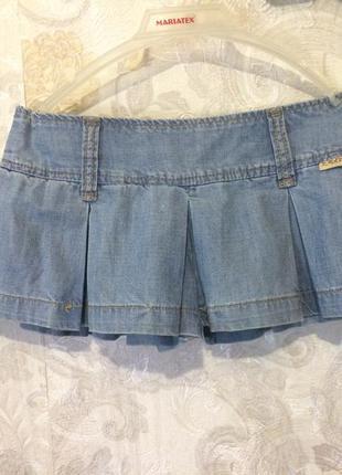 Джинсовая юбка-шорты r.marks jeans