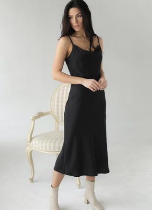 Шовкова сукня-комбінація 🤍