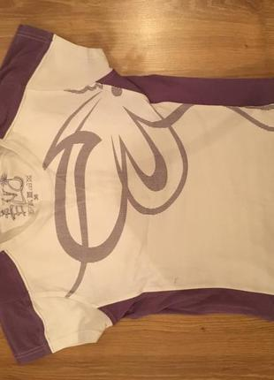 Спортивная трикотажная футболка