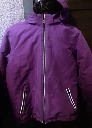 Куртка лыжная парка непродуваемая спортивная