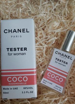 Женский аромат, духи, парфюм,  тестер 60 мл, пробник coco mademoiselle