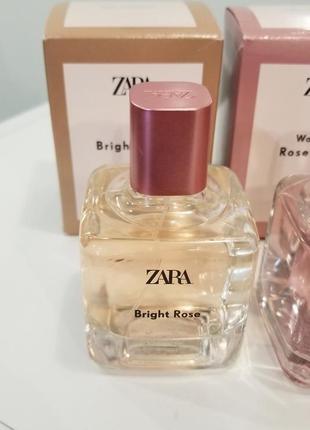 Духи zara парфюмированная вода bright rose 100 ml