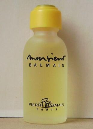 Pierre balmain monsieur balmain - edt - 5 мл. оригінал. вінтаж