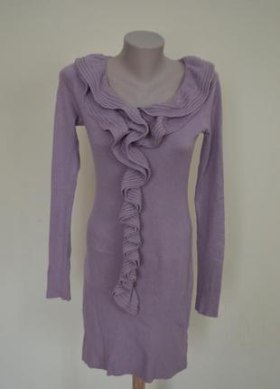 Платье мохер шерсть