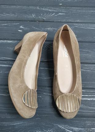 Роскошные кожаные туфли с пряжкой